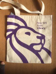 NYPL bag